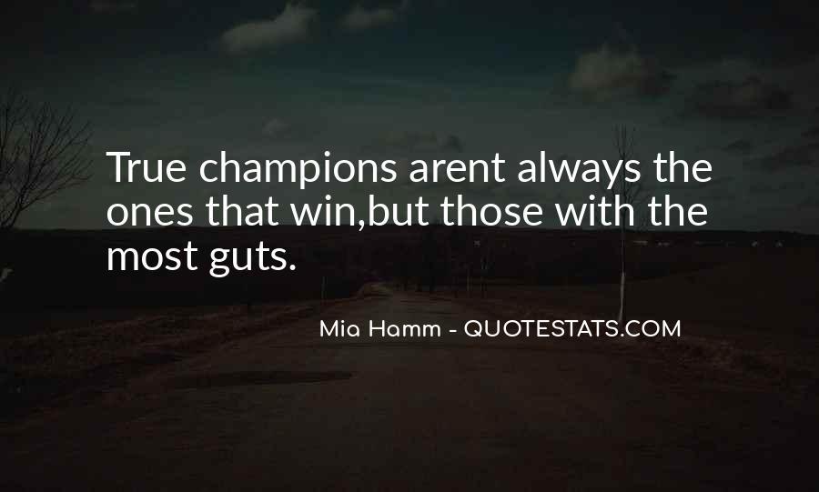 Mia Hamm Quotes #1184102