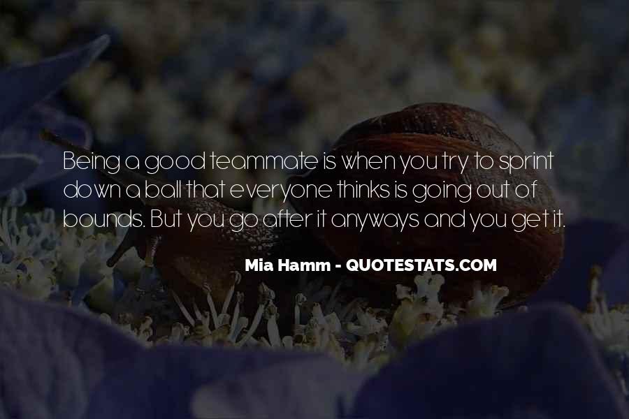 Mia Hamm Quotes #1554868