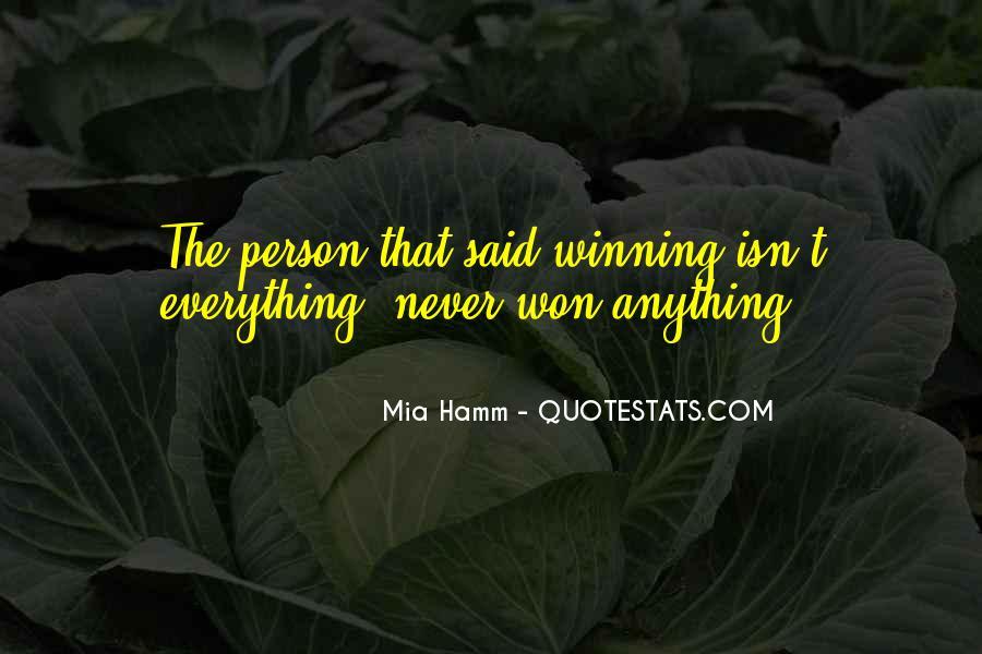 Mia Hamm Quotes #1661737