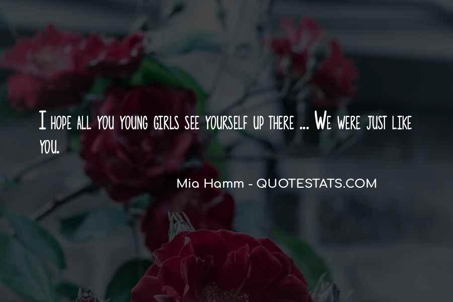Mia Hamm Quotes #269166