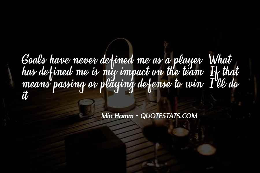 Mia Hamm Quotes #294648