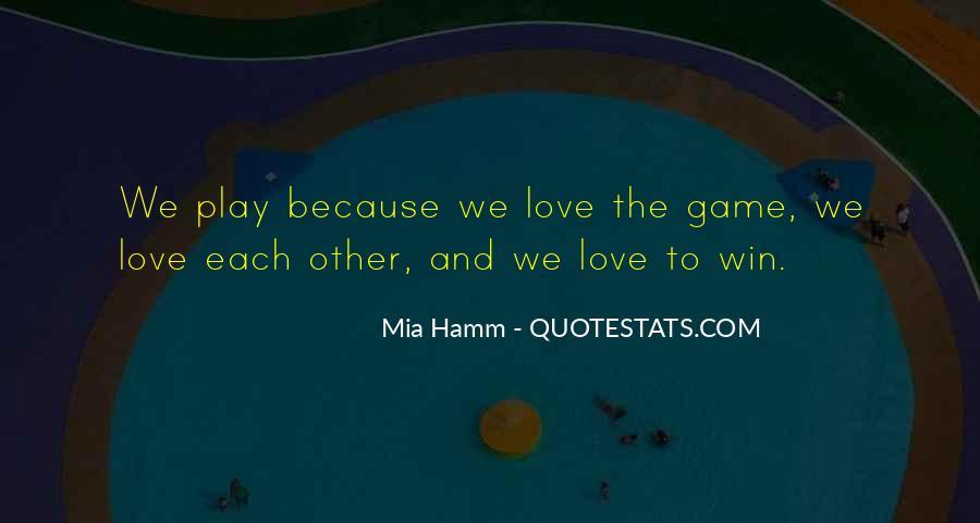 Mia Hamm Quotes #318629