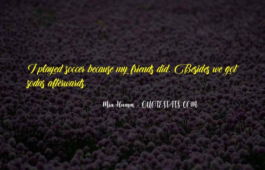 Mia Hamm Quotes #679647