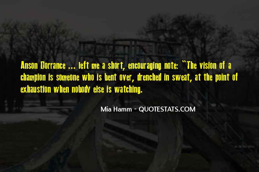 Mia Hamm Quotes #706969