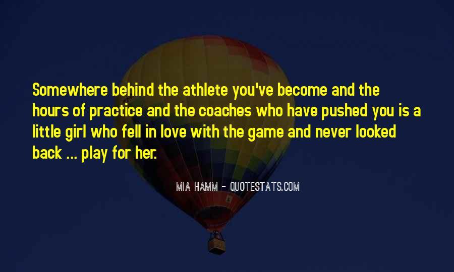 Mia Hamm Quotes #92251