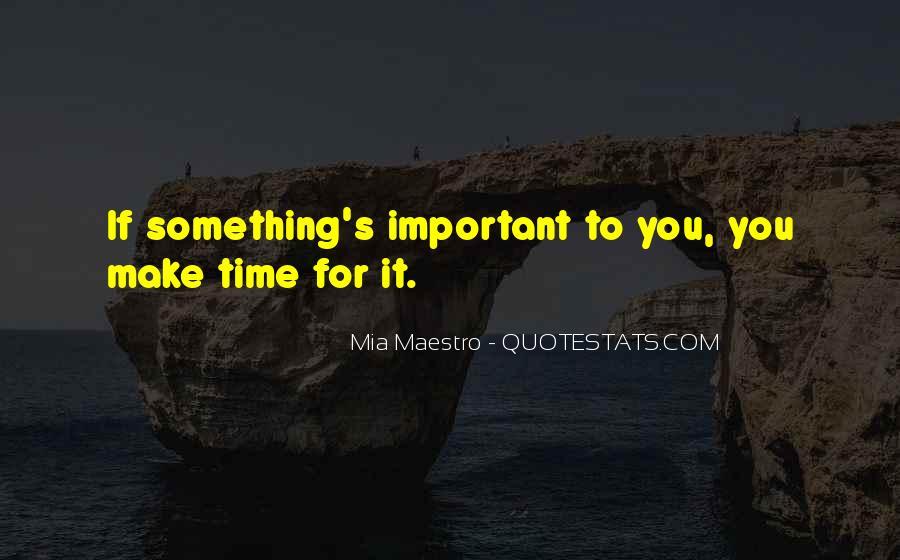 Mia Maestro Quotes #1820008