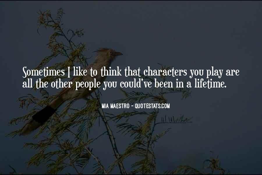 Mia Maestro Quotes #446327
