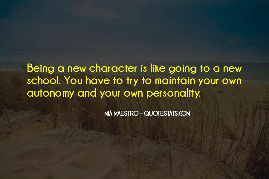 Mia Maestro Quotes #864476