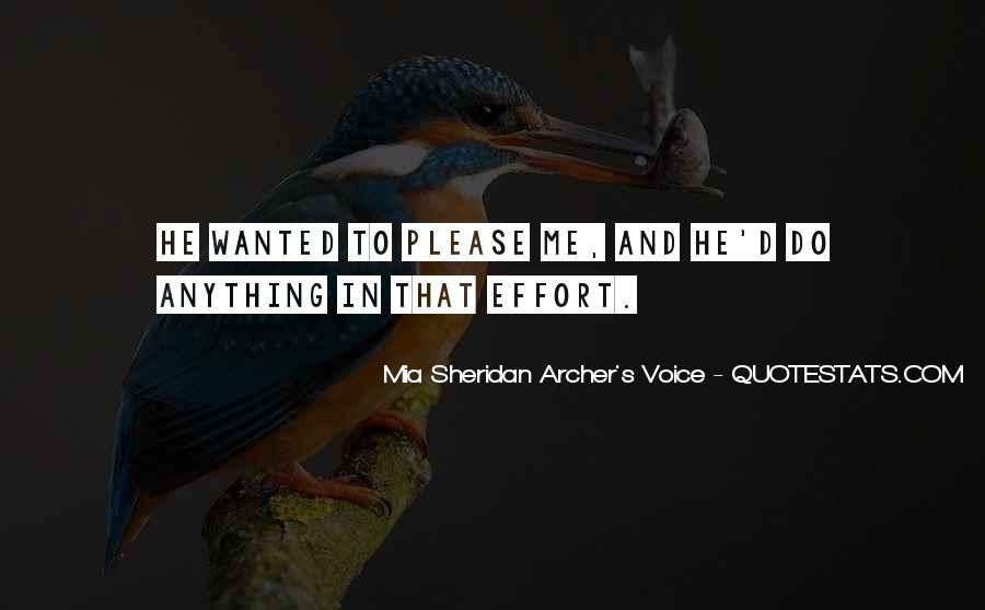 Mia Sheridan Archer's Voice Quotes #1528393