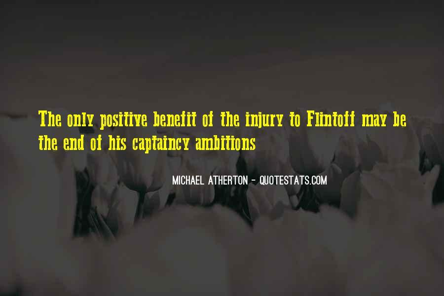 Michael Atherton Quotes #1537917