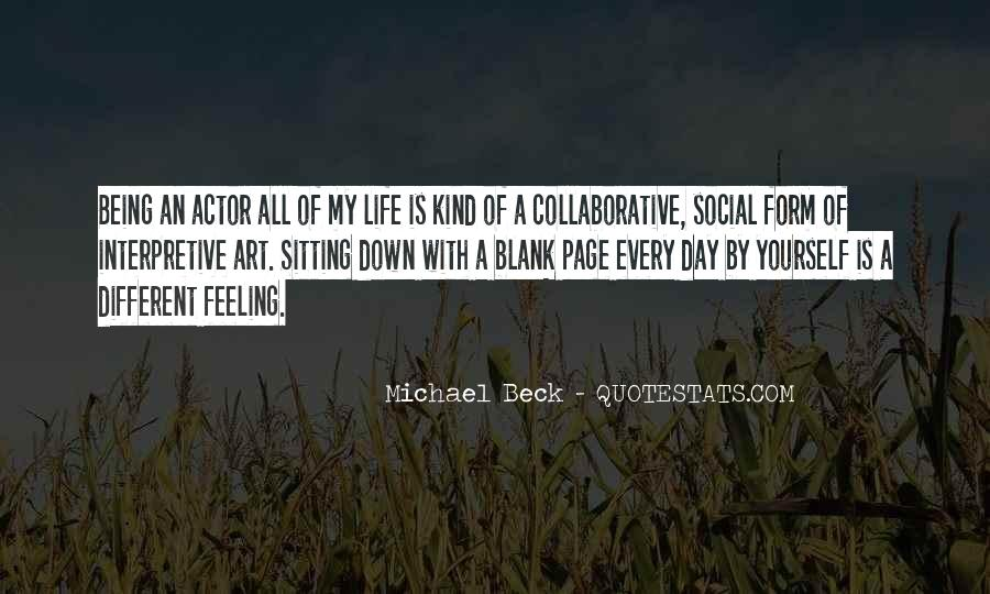 Michael Beck Quotes #1070708