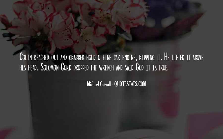 Michael Carroll Quotes #351105