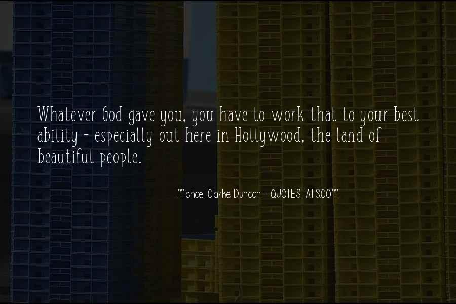 Michael Clarke Duncan Quotes #1708336