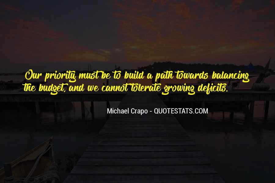 Michael Crapo Quotes #1767678