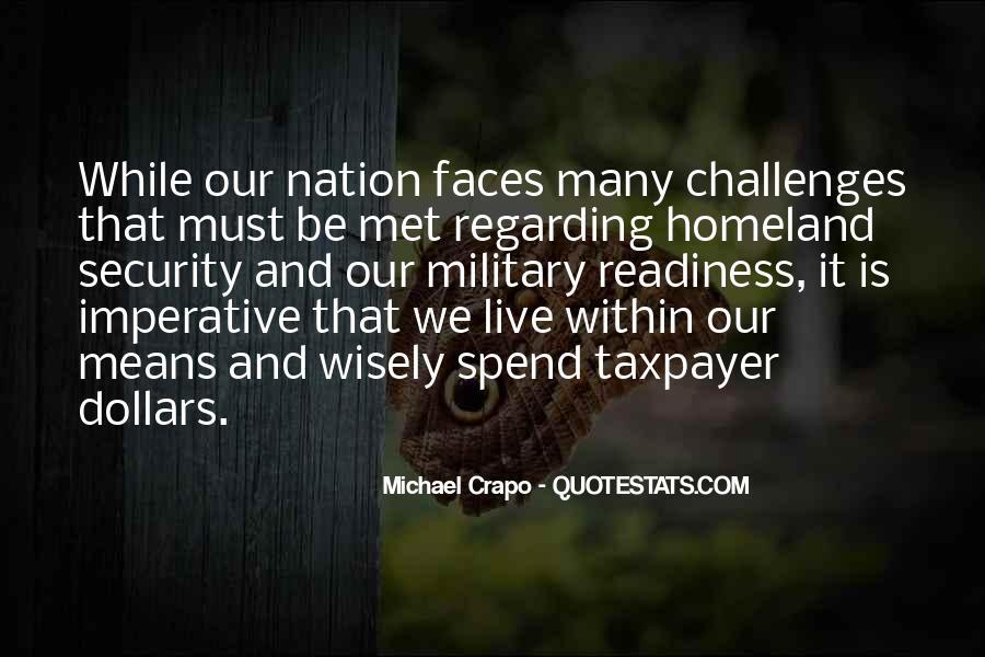 Michael Crapo Quotes #272797