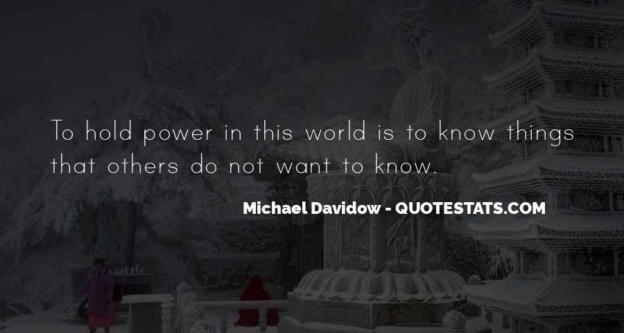 Michael Davidow Quotes #1004122