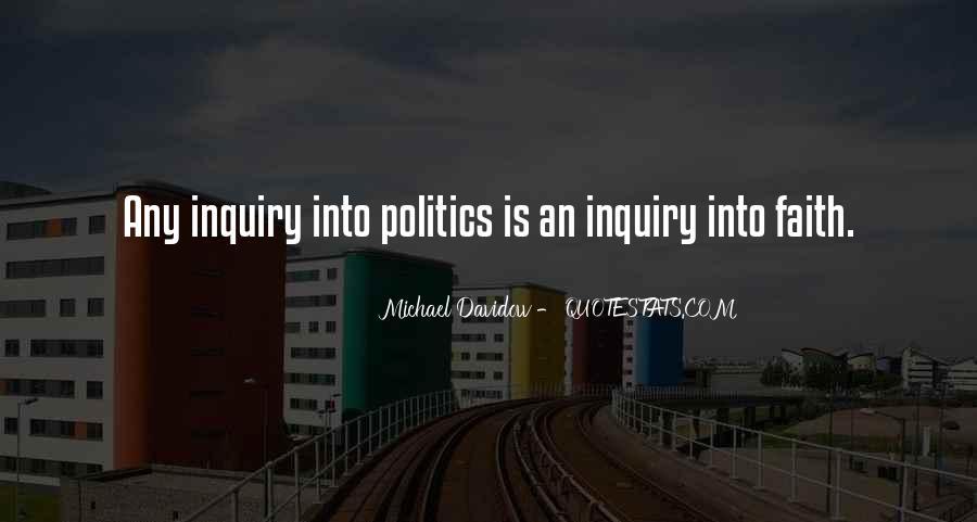 Michael Davidow Quotes #1145874