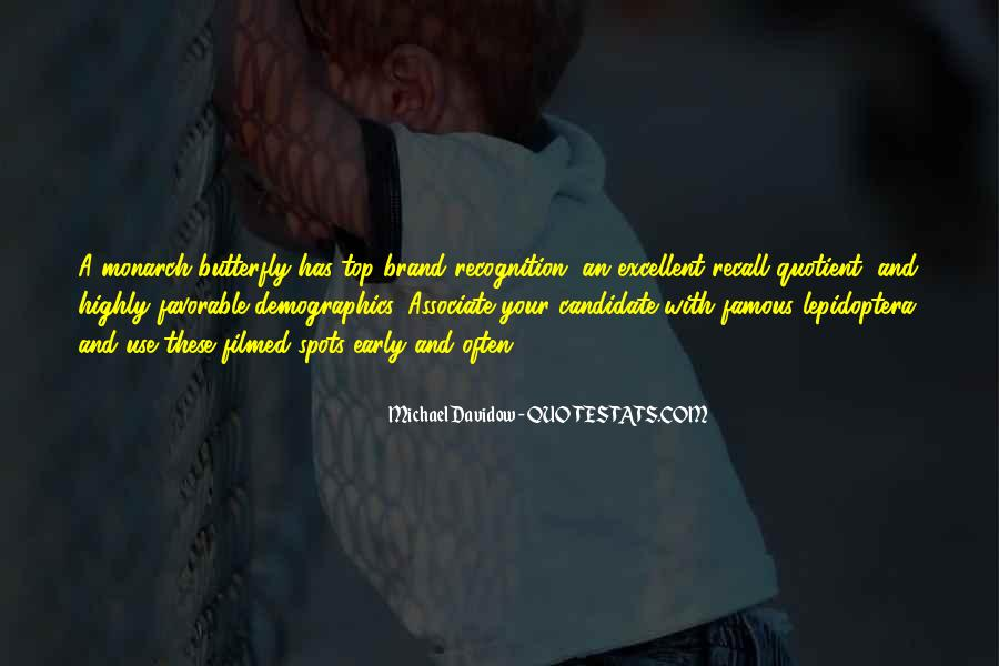 Michael Davidow Quotes #231467