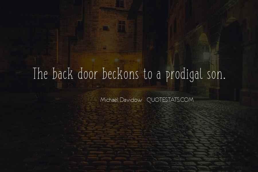 Michael Davidow Quotes #644690