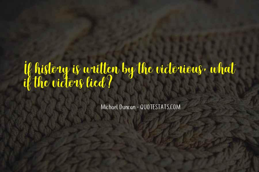 Michael Duncan Quotes #1449257