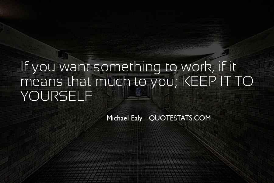 Michael Ealy Quotes #1821514