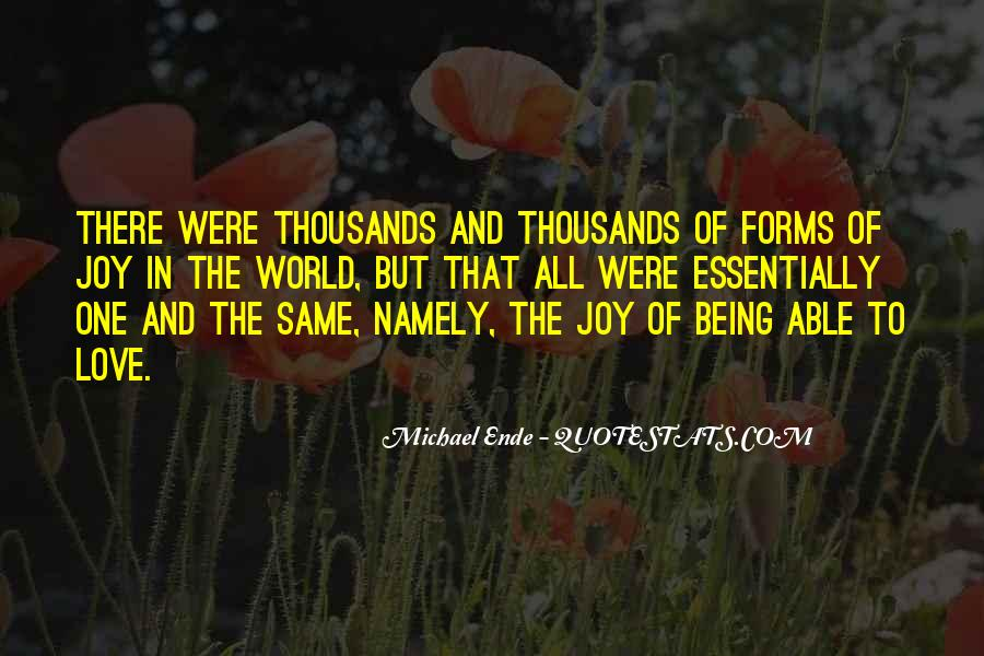 Michael Ende Quotes #167662