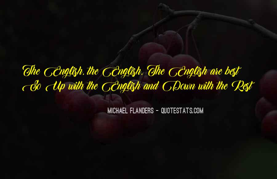 Michael Flanders Quotes #238440
