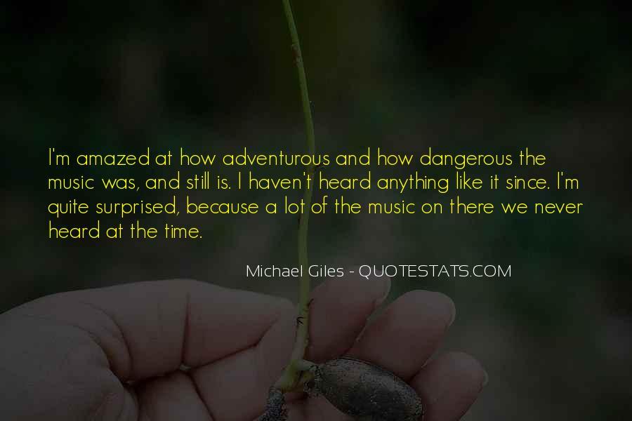 Michael Giles Quotes #1440222