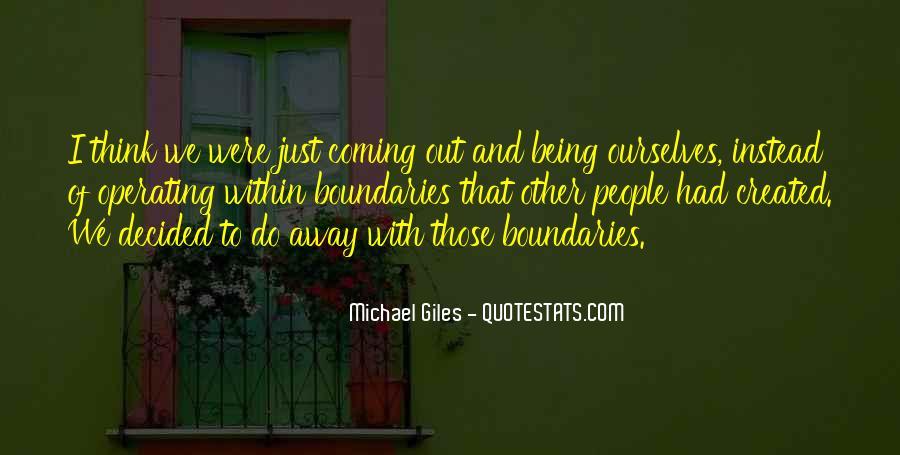 Michael Giles Quotes #590344