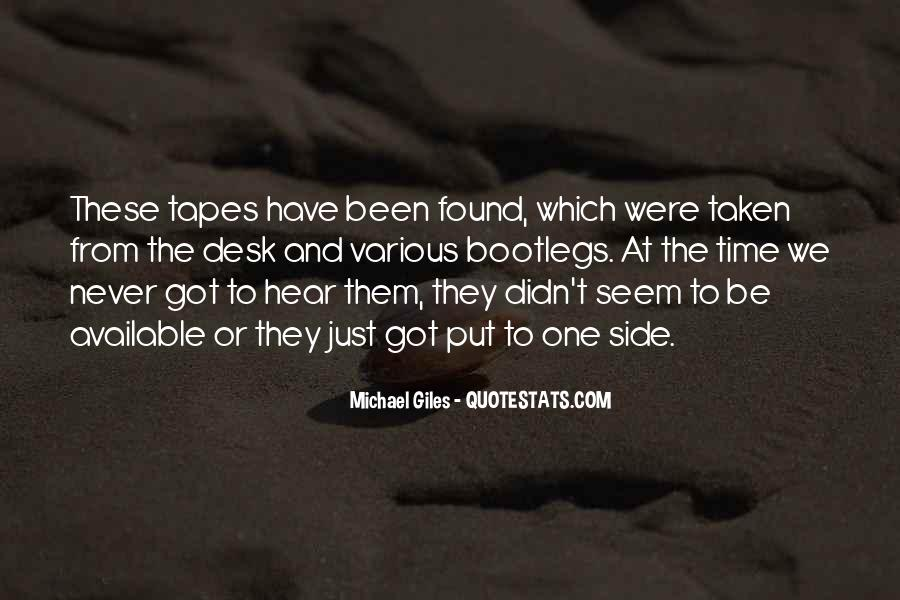 Michael Giles Quotes #878391