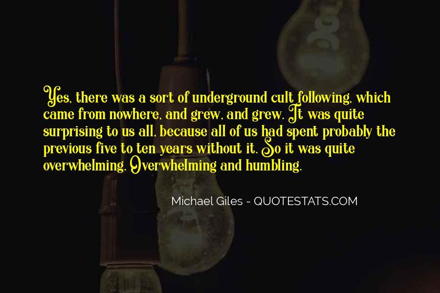 Michael Giles Quotes #896332