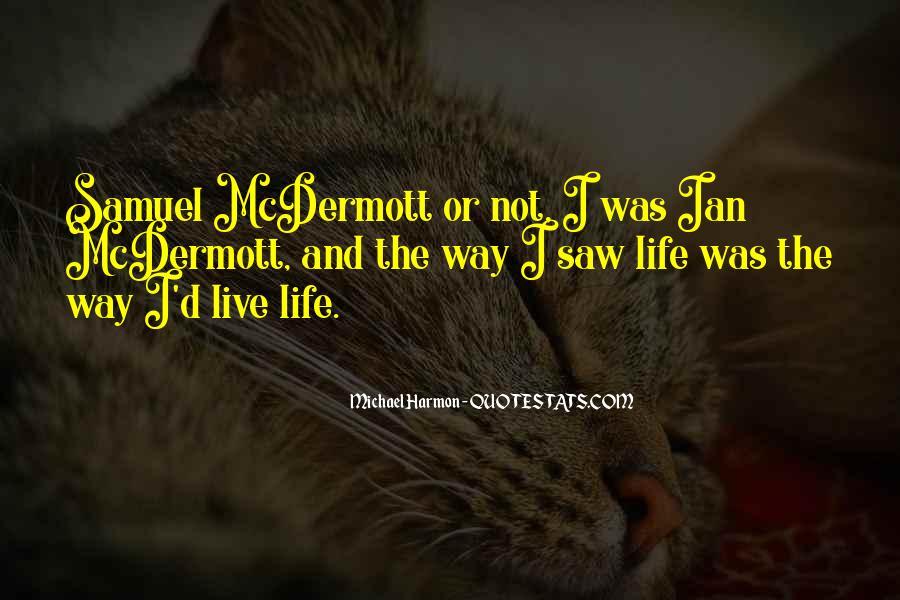 Michael Harmon Quotes #1682393