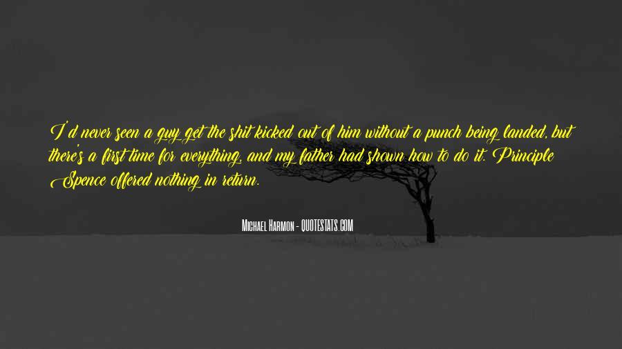 Michael Harmon Quotes #291337