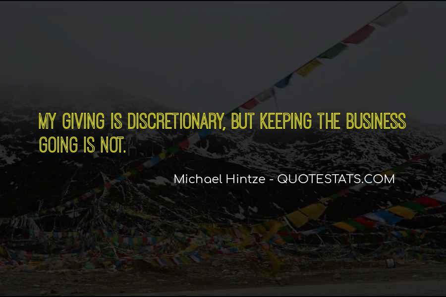 Michael Hintze Quotes #1432217