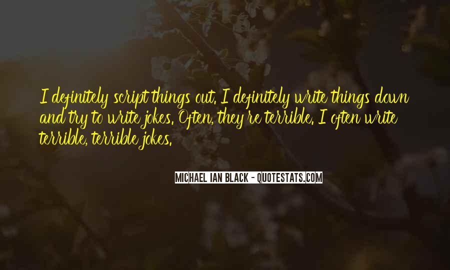 Michael Ian Black Quotes #1538585