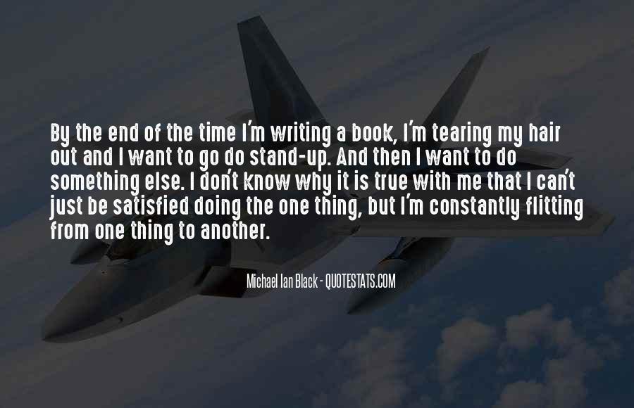 Michael Ian Black Quotes #1708130