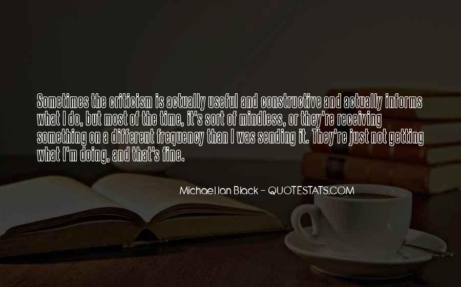 Michael Ian Black Quotes #651390