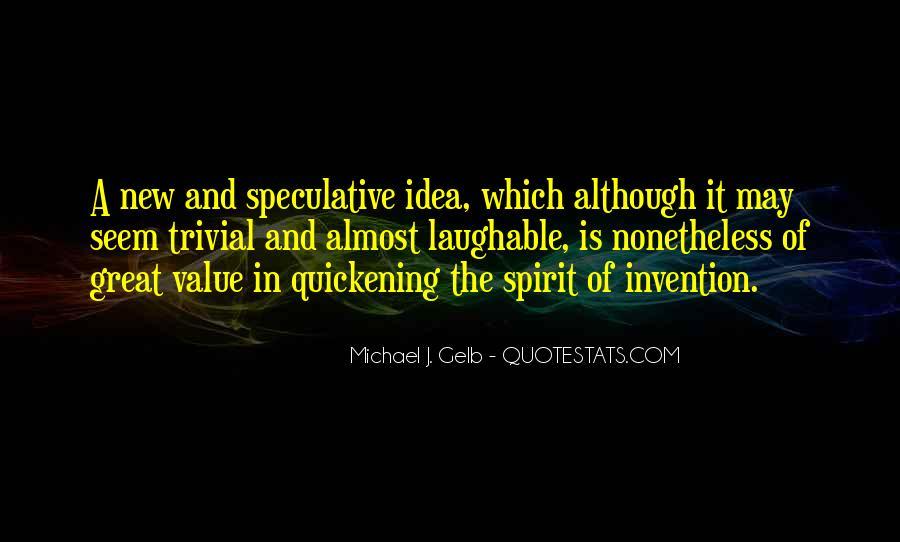 Michael J. Gelb Quotes #393095