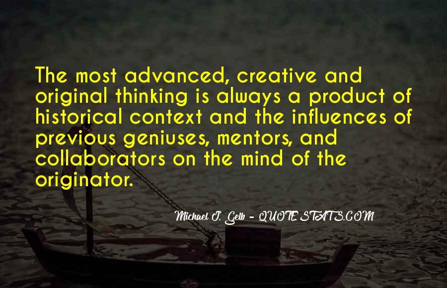 Michael J. Gelb Quotes #410175