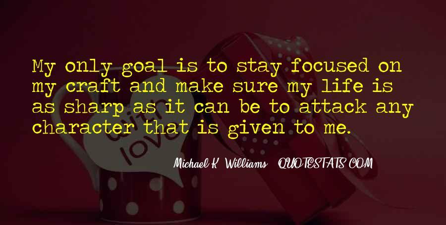 Michael K. Williams Quotes #153214
