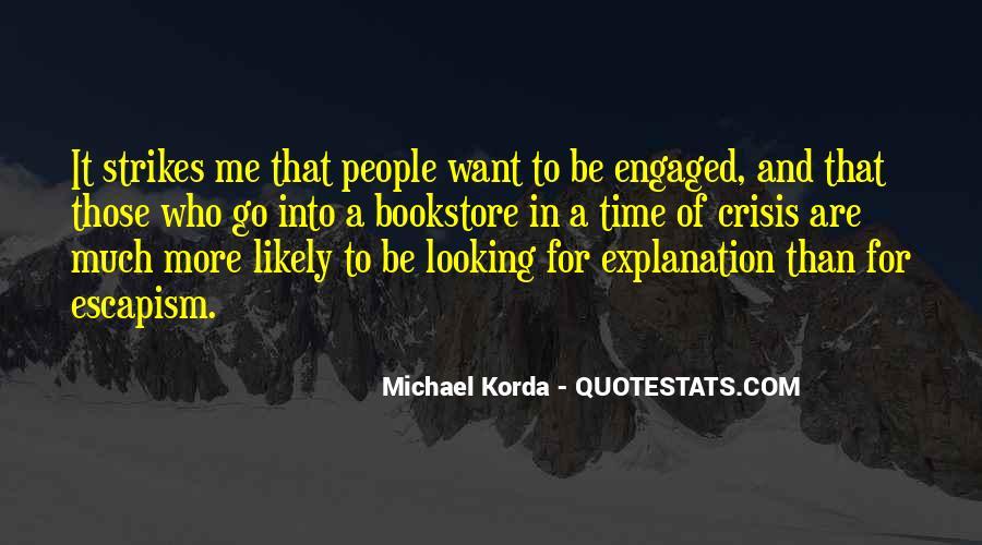 Michael Korda Quotes #1389