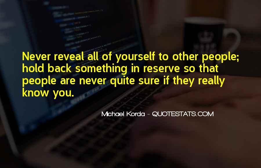 Michael Korda Quotes #202135