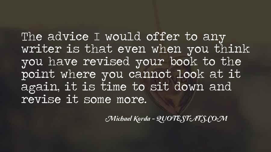 Michael Korda Quotes #942744