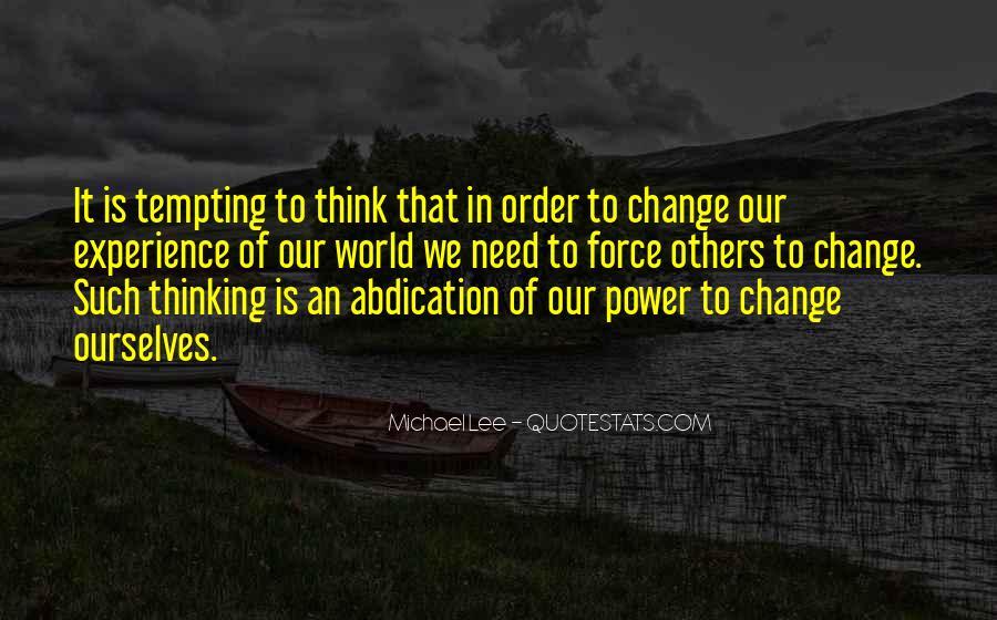 Michael Lee Quotes #75664