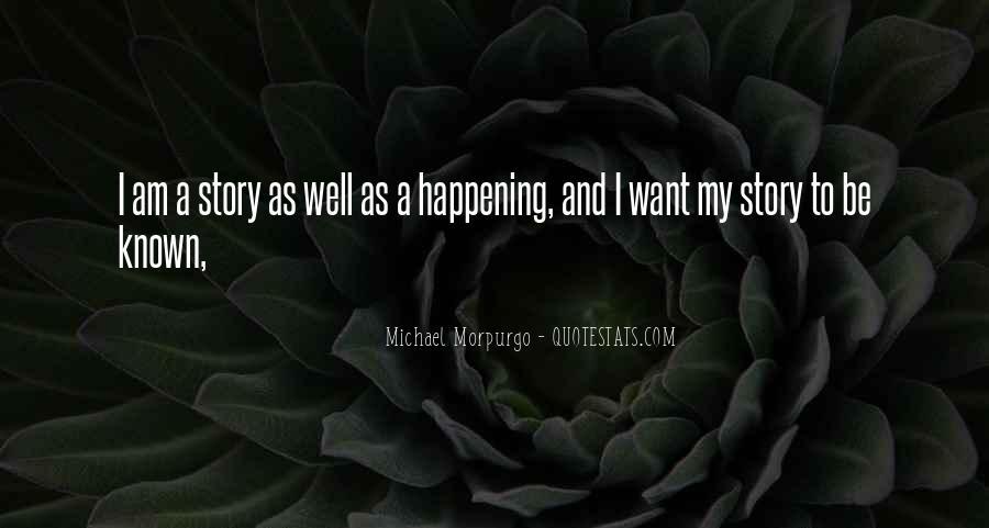Michael Morpurgo Quotes #1056814