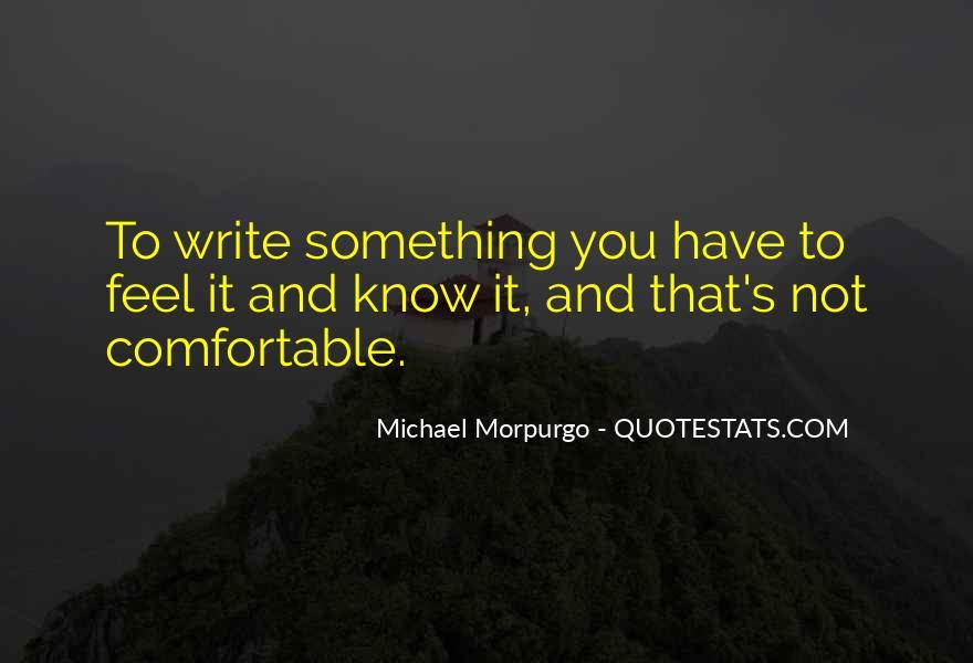 Michael Morpurgo Quotes #1190459