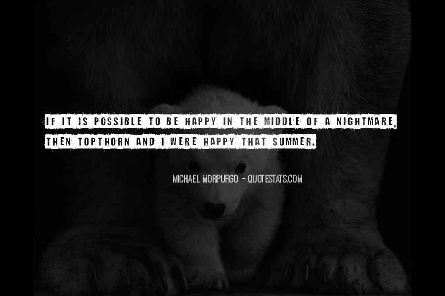 Michael Morpurgo Quotes #1191480