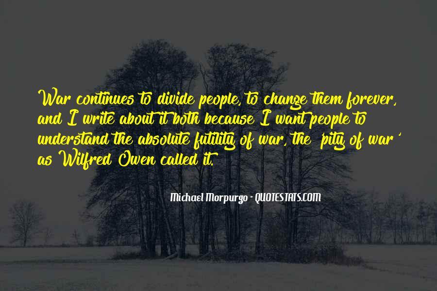 Michael Morpurgo Quotes #1283403