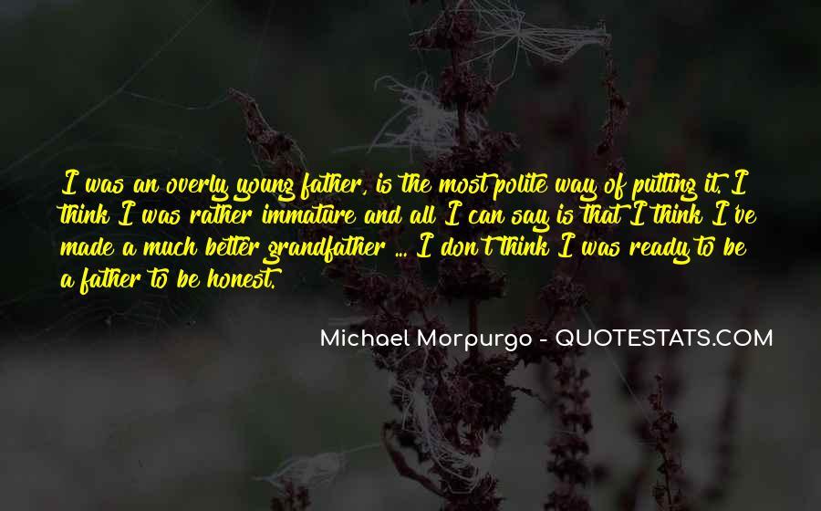 Michael Morpurgo Quotes #1454425