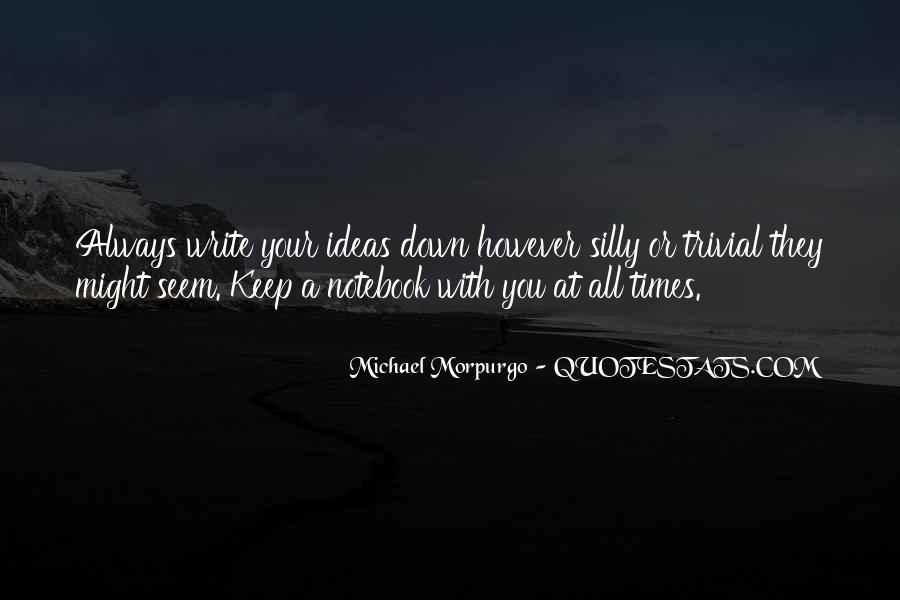 Michael Morpurgo Quotes #1491740